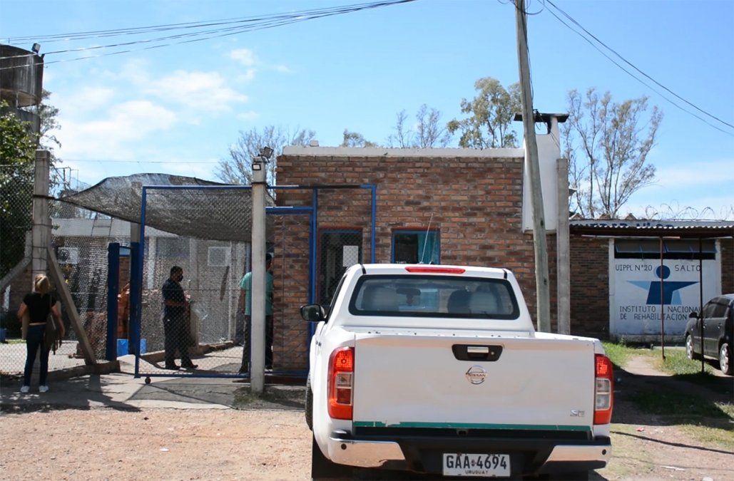 Uno de cada tres reclusos de la cárcel de Salto está con coronavirus