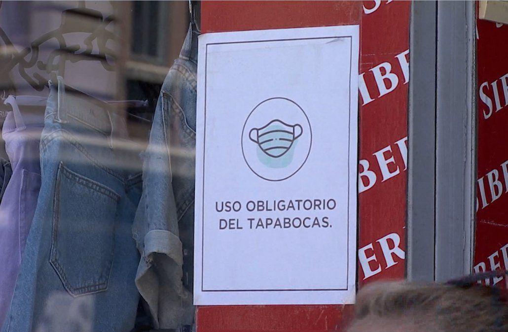 El 43% de los casos acumulados de Covid en Uruguay se registró en marzo