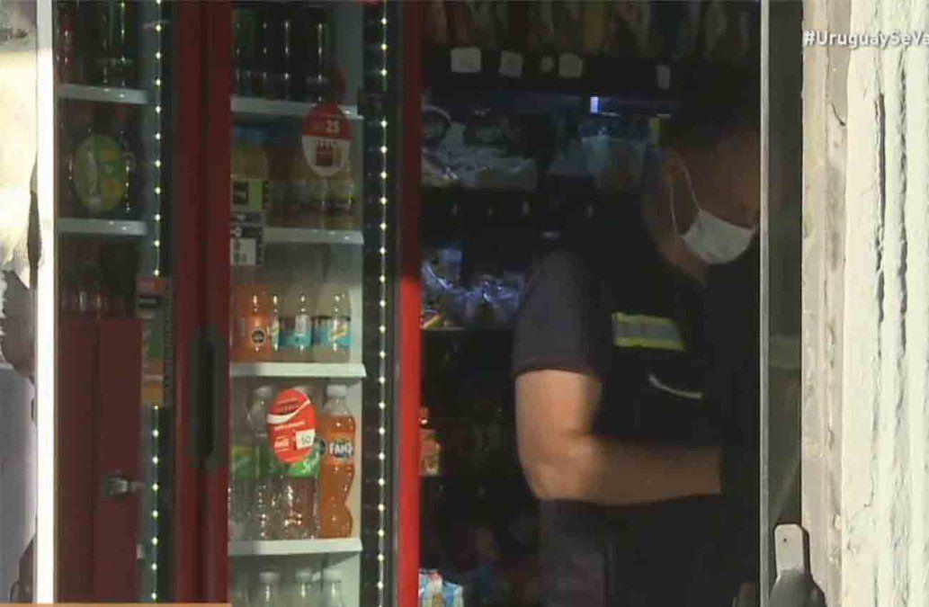 Un delincuente fue abatido en medio de una rapiña a un supermercado