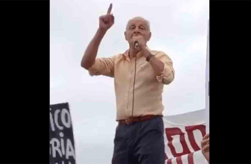 Ministerio del Interior reportó ante Fiscalía una aglomeración antivacunas convocada por Gustavo Salle