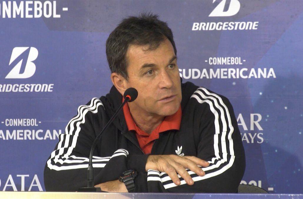 Cesaron a Giordano en Nacional y asume Ligüera por dos partidos