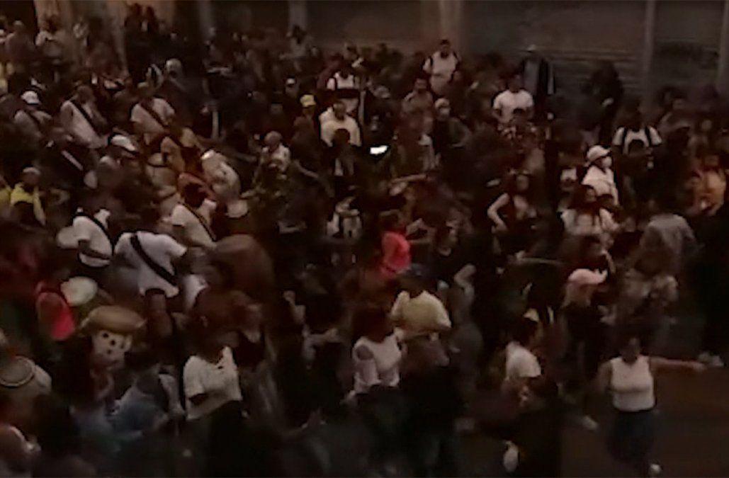 Policía disolvió aglomeración de cuerdas de tambores en Palermo e informó a Fiscalía