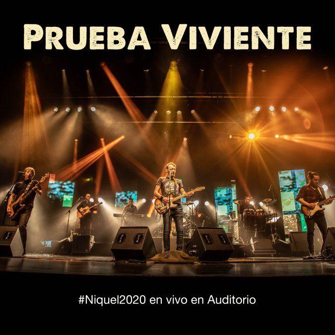 Niquel presenta Prueba Viviente grabado en vivo en el Auditorio