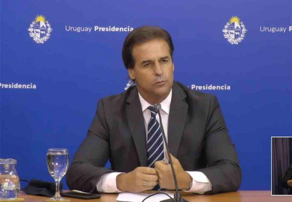Siga en vivo aquí la conferencia de prensa del presidente Lacalle Pou sobre medidas por pico de Covid