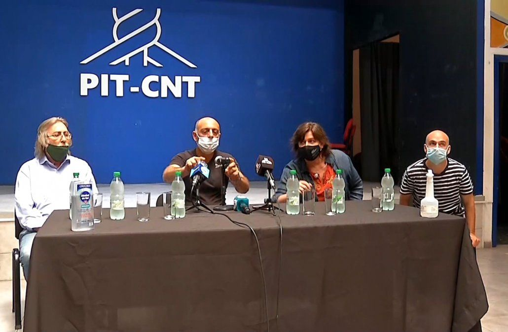 El PIT-CNT cuestiona suspensión de clases mientras sigue la actividad comercial