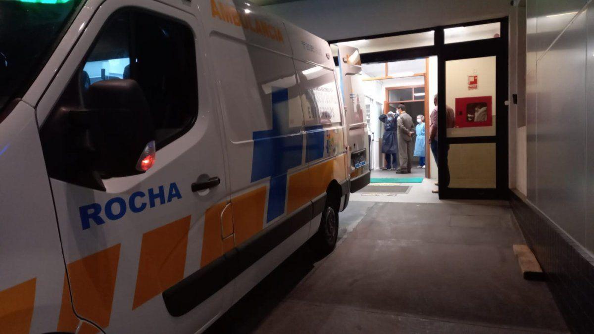 Helicóptero que trasladaba vacunas de Pfizer se accidentó en Rocha: pérdidas totales