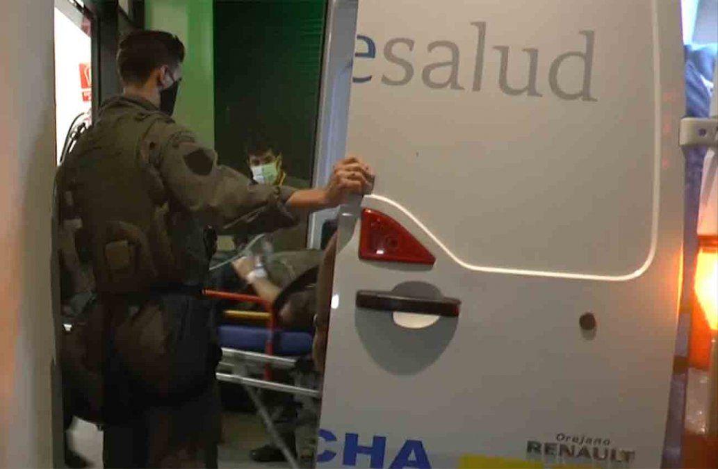 Los cuatro tripulantes del helicóptero accidentado son evaluados en el Hospital Militar
