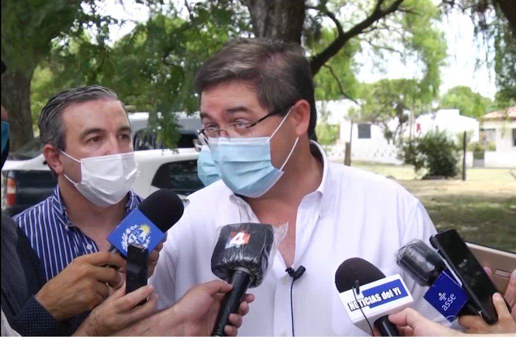 Leonardo Cipriani: Hoy no tenemos saturación del sistema de salud en ASSE