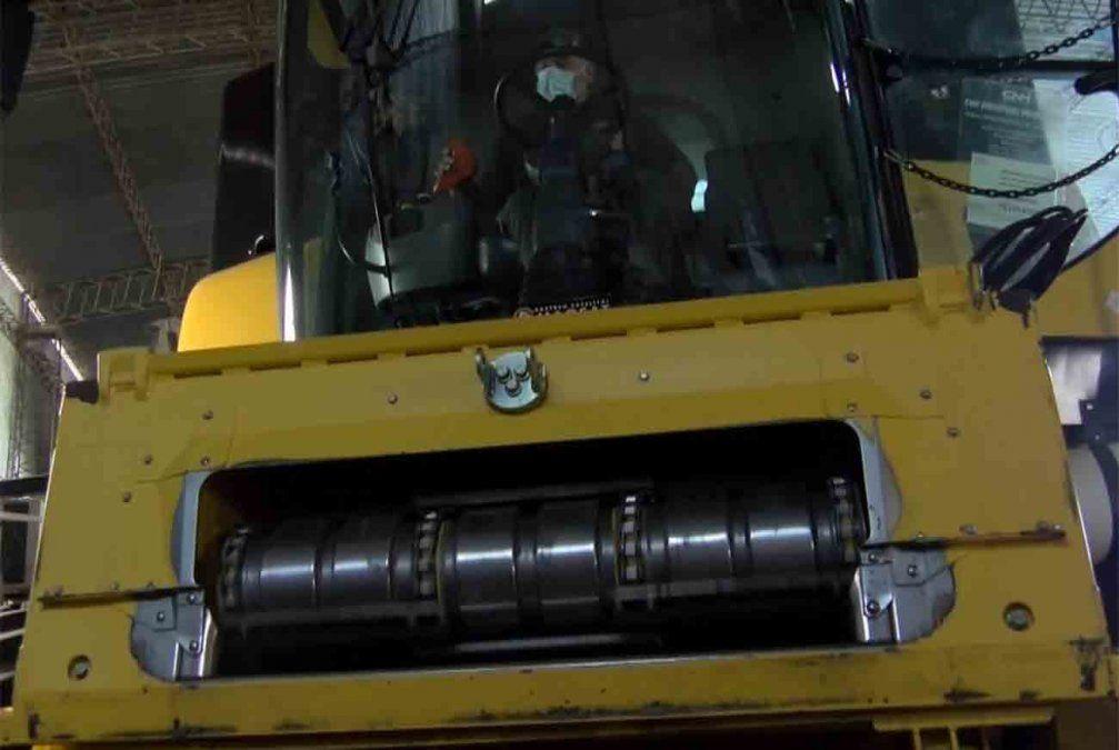 Un hombre murió tras un accidente laboral con una trilladora
