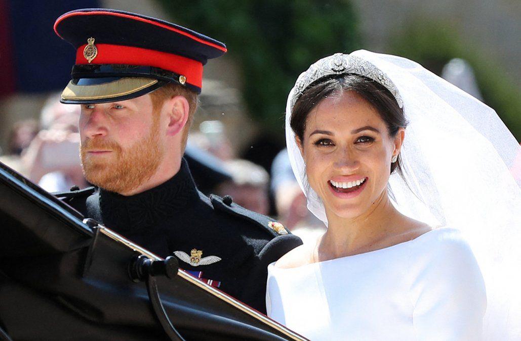 El arzobispo de Canterbury negó haber casado a Harry y Meghan antes de la ceremonia oficial