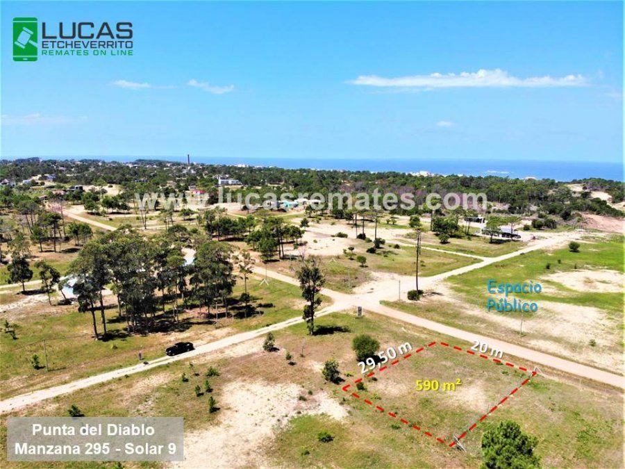 Gran Remate Online de Lucas Etcheverrito de terrenos en cuotas en Punta del Diablo, Barra del Chuy, La Esmeralda Oceanía del Polonio, Punta Rubia y Pueblo Nuevo