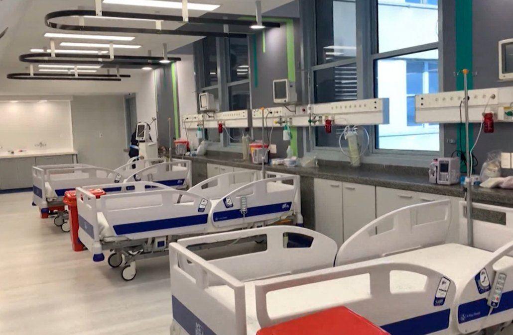 Hay 393 pacientes con Covid-19 internados en CTI, según intensivistas