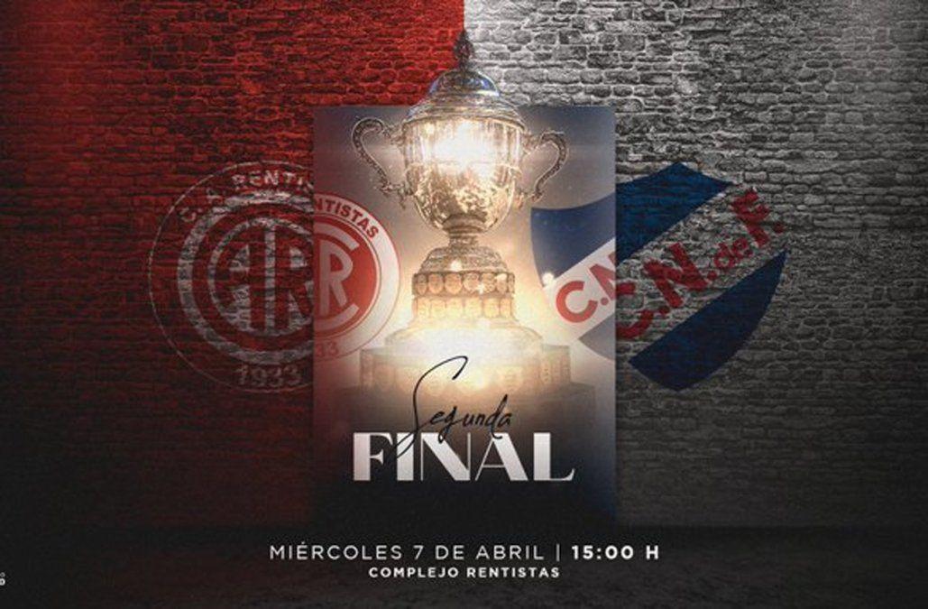 Foto: diseño de la cuenta oficial del Campeonato Uruguayo