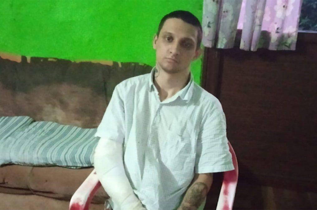 Familia de joven golpeado y abandonado en una cantera pide colaboración para una operación