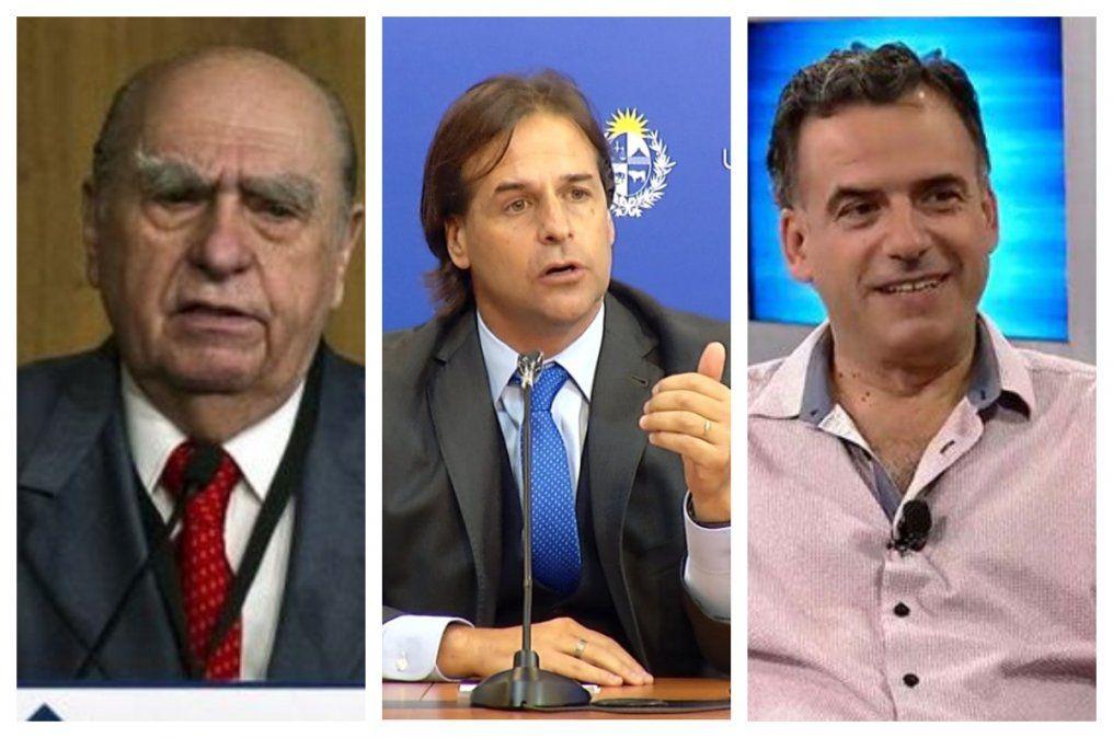 Sanguinetti le propone a Lacalle Pou una cumbre de líderes en busca de apoyo más amplio en políticas sobre Covid-19