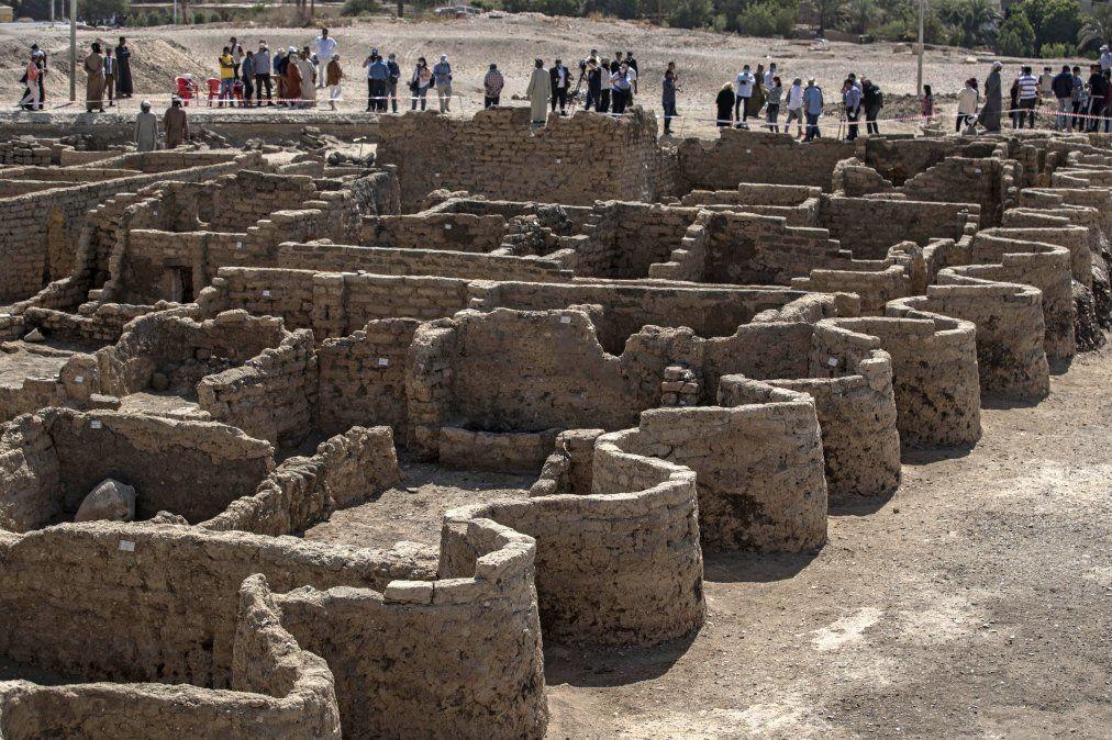 Una ciudad de artesanos de más de 3.000 años descubierta en Egipto