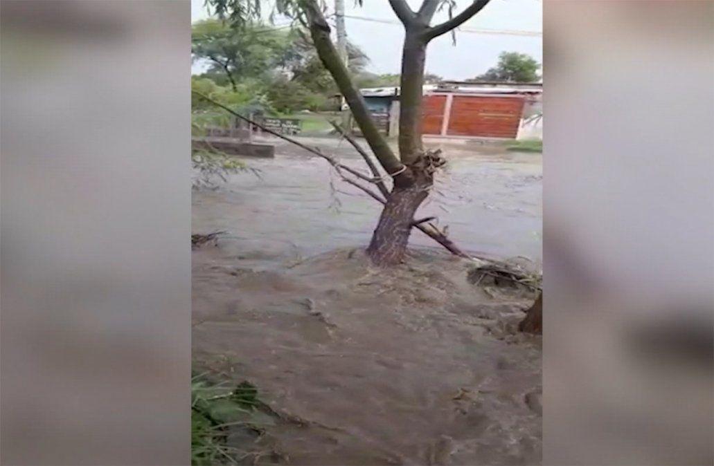 Barrio Maracaná: vecinos reclaman soluciones ante inundaciones por cañada