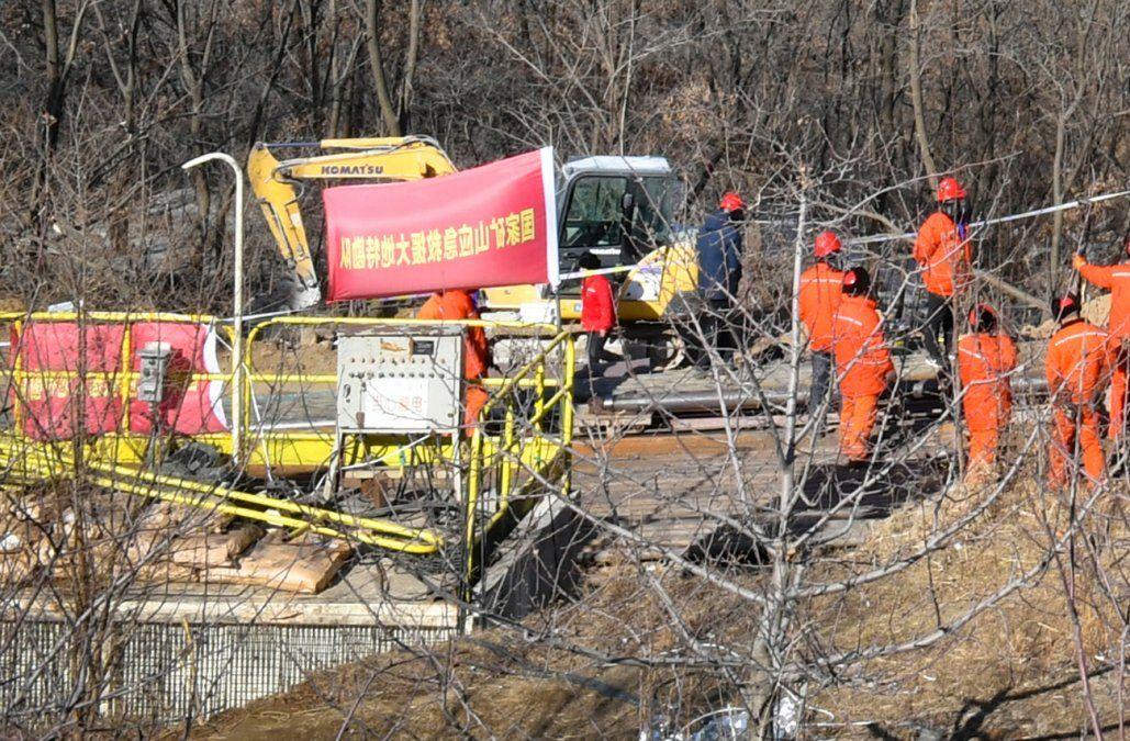 Veintiún mineros atrapados en una mina de carbón en China