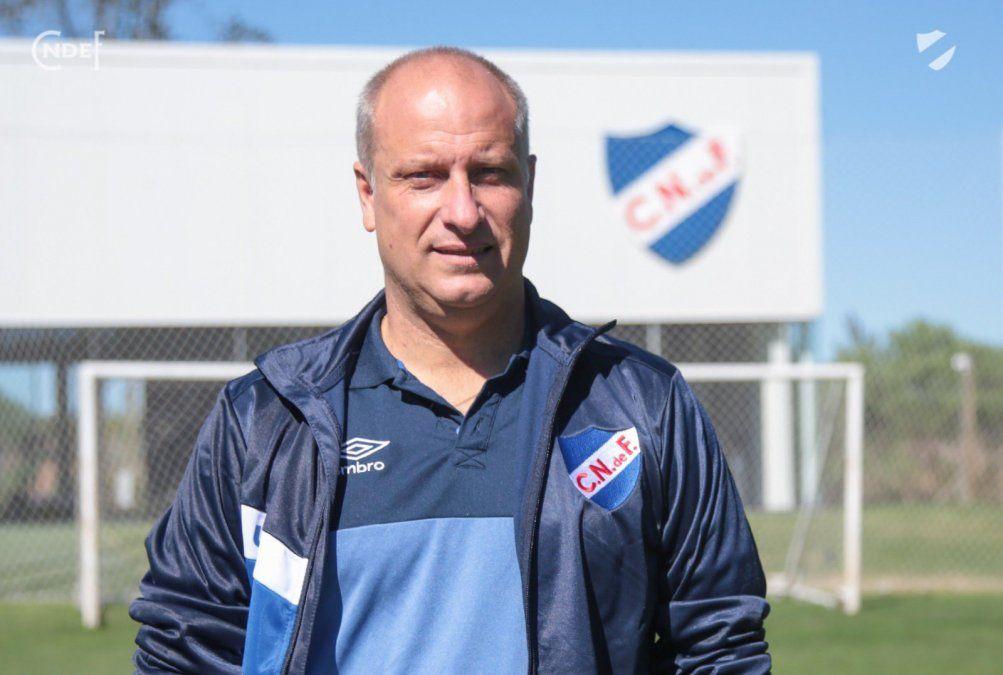 Cappuccio jugó en formativas de Nacional entre 1990 y 1994. Hoy vuelve a Los Céspedes como entrenador. Foto: Nacional