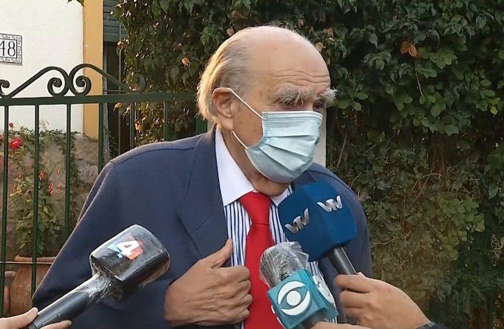 Sanguinetti: oposición ha hecho todo lo necesario para no ser convocada