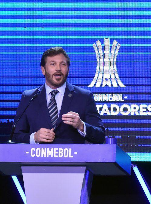 El paraguayo Alejandro Domínguez