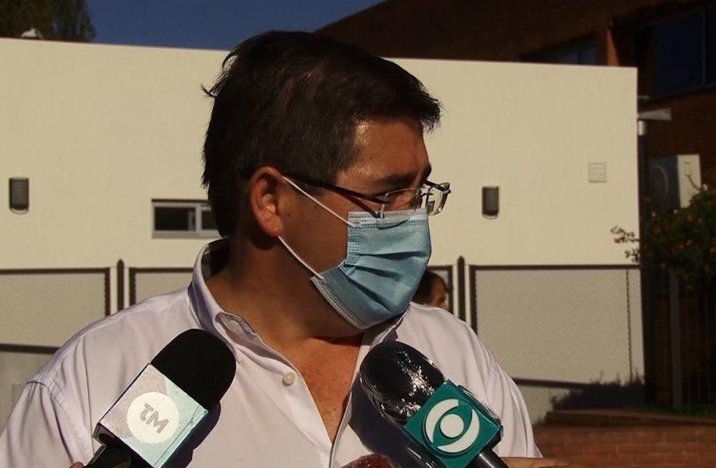 Cipriani: el Español tiene una situación de colapso y otros tres hospitales están llenos