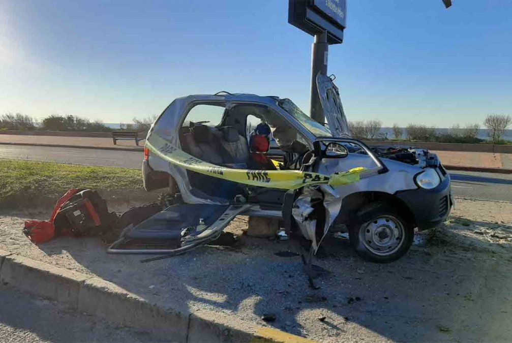 Accidente fatal en la rambla de Carrasco: falleció un hombre 34 años