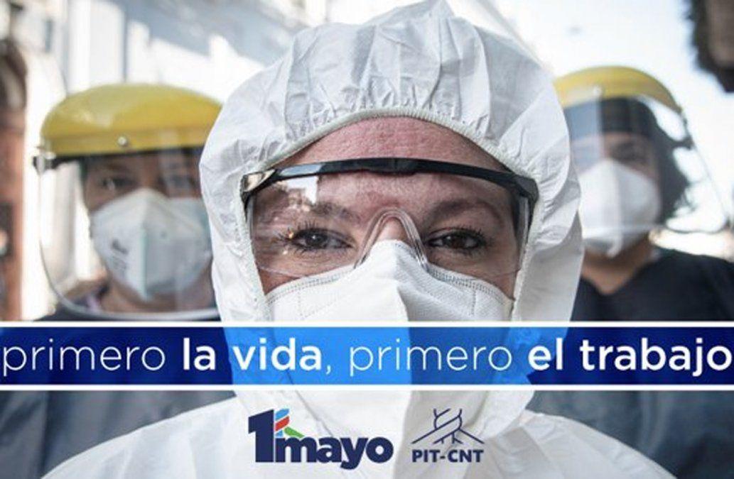 PIT-CNT convoca a un 1 de mayo desde las casas, sindicatos y lugares de trabajo y estudio