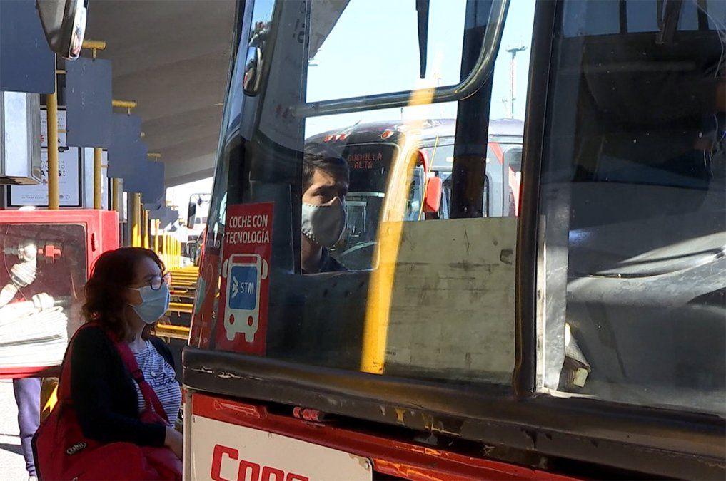 Transporte metropolitano funciona con un 48% de ocupación, según MTOP