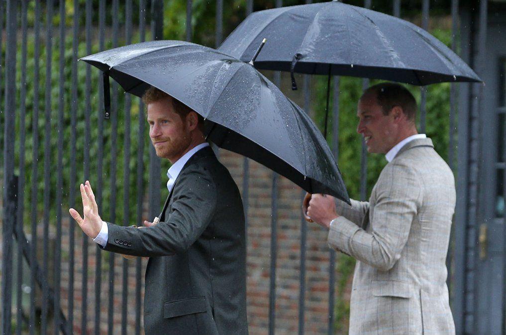 En el funeral del príncipe Felipe, William y Harry andarán separados