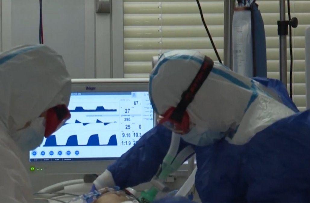 Datos Covid: 2.835 casos nuevos, 60 fallecidos y 31.216 personas con la enfermedad