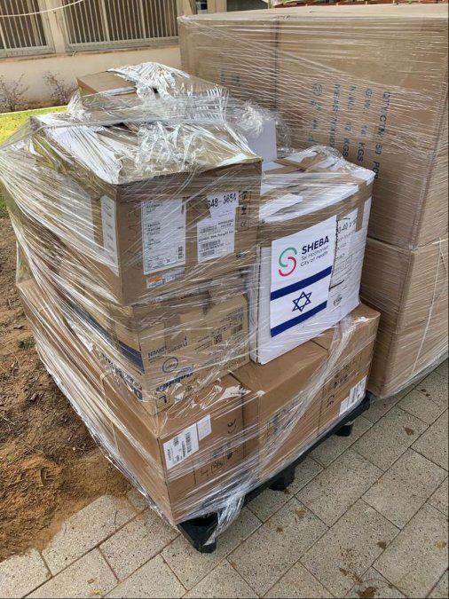 El mayor hospital de Israel dona equipos de CTI a Uruguay