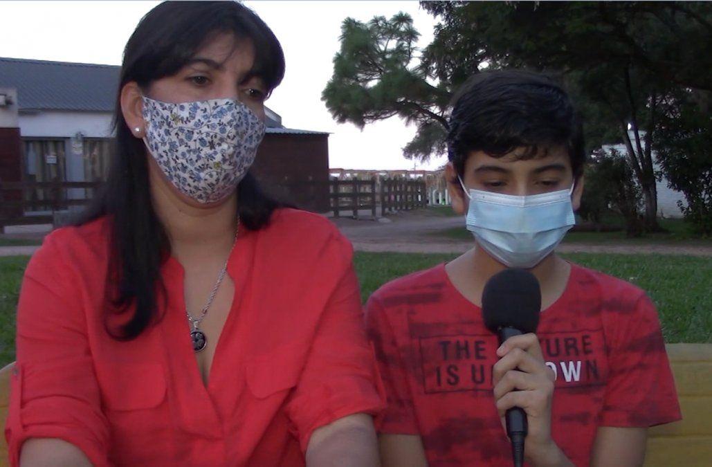 Niño con hemofilia le pidió por carta a Lacalle Pou un nuevo medicamento
