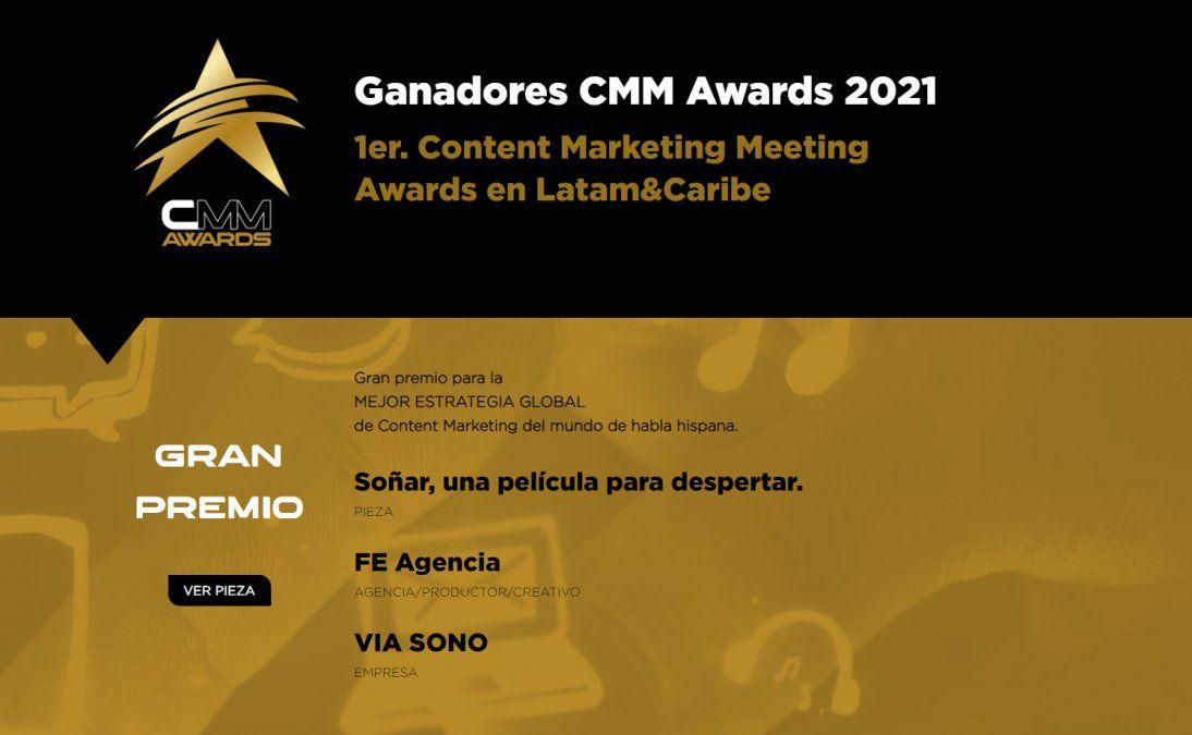 Cientos de piezas de 12 países participaron del CMM Awards; conozca aquí a los ganadores