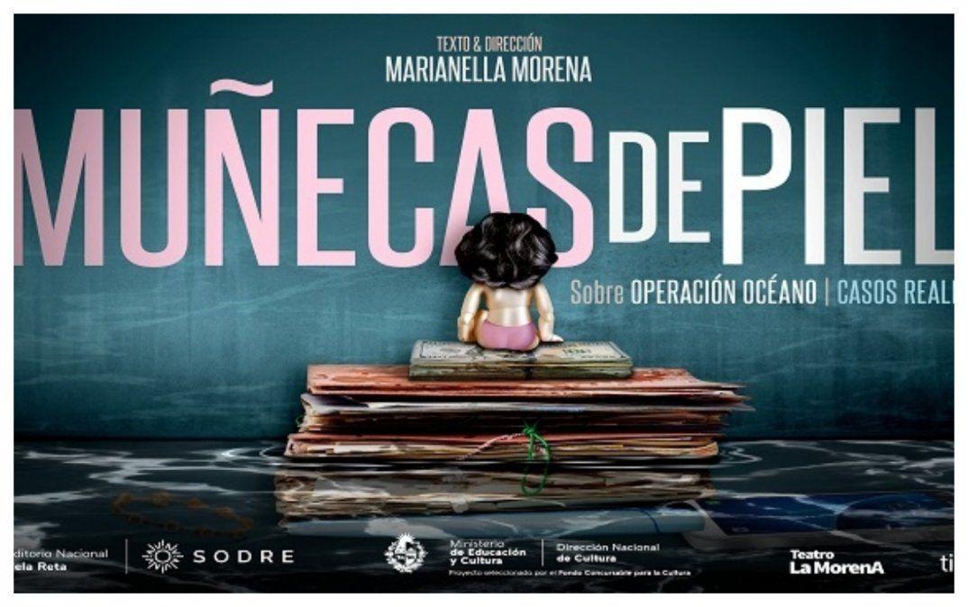 Pronta para estrenar Muñecas de piel, obra de teatro basada en la Operación Océano