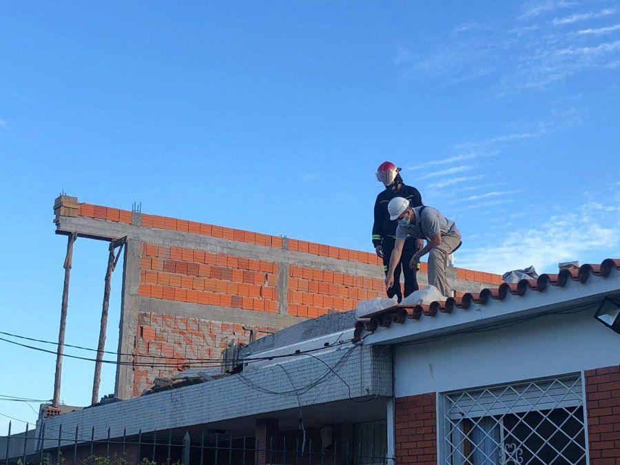 Obrero de la construcción falleció al caer muro de vivienda en la que trabajaba