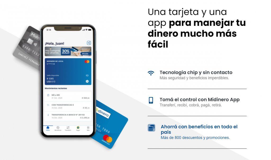 Midinero denunció maniobras de fraude electrónico y reintegra dinero a los clientes damnificados