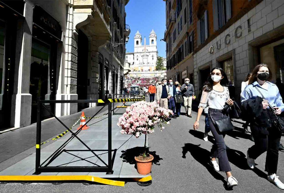 Italia prohíbe la entrada de viajeros procedentes de India por casos de Covid-19