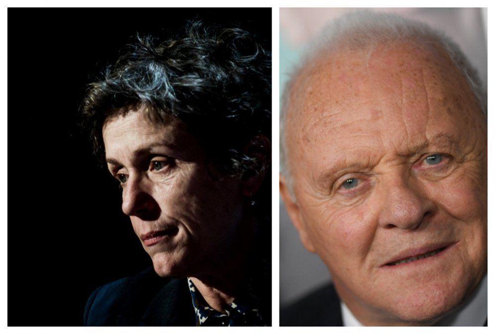 Anthony Hopkins, Frances McDormand y Nomadland, se llevaron los principales Oscar