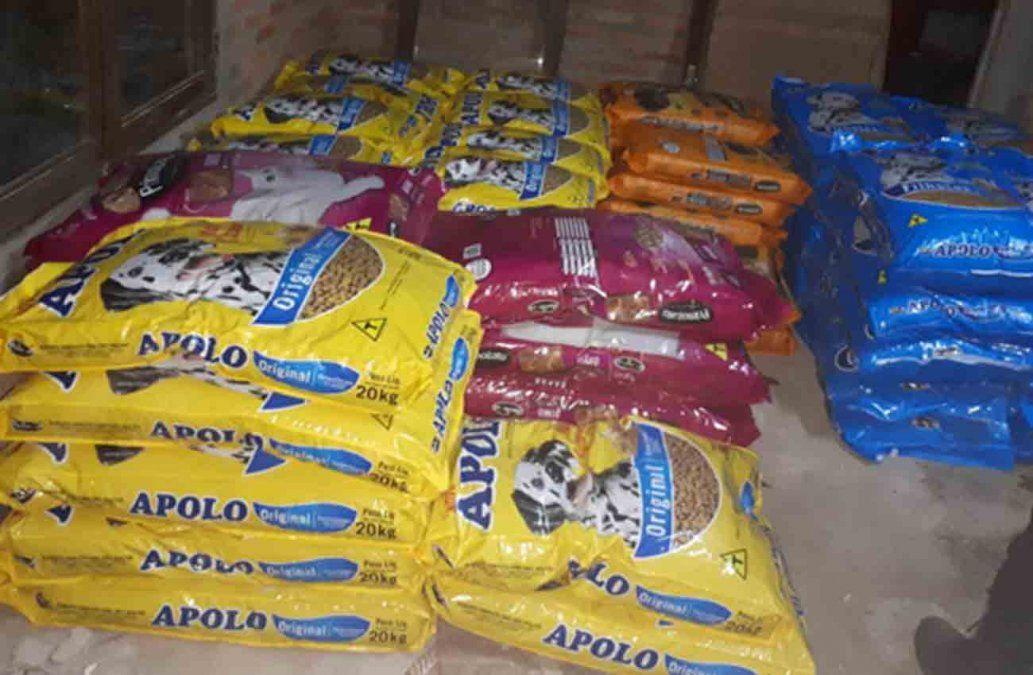 Contrabando: decomisan más de una tonelada de comida para perros en Melo