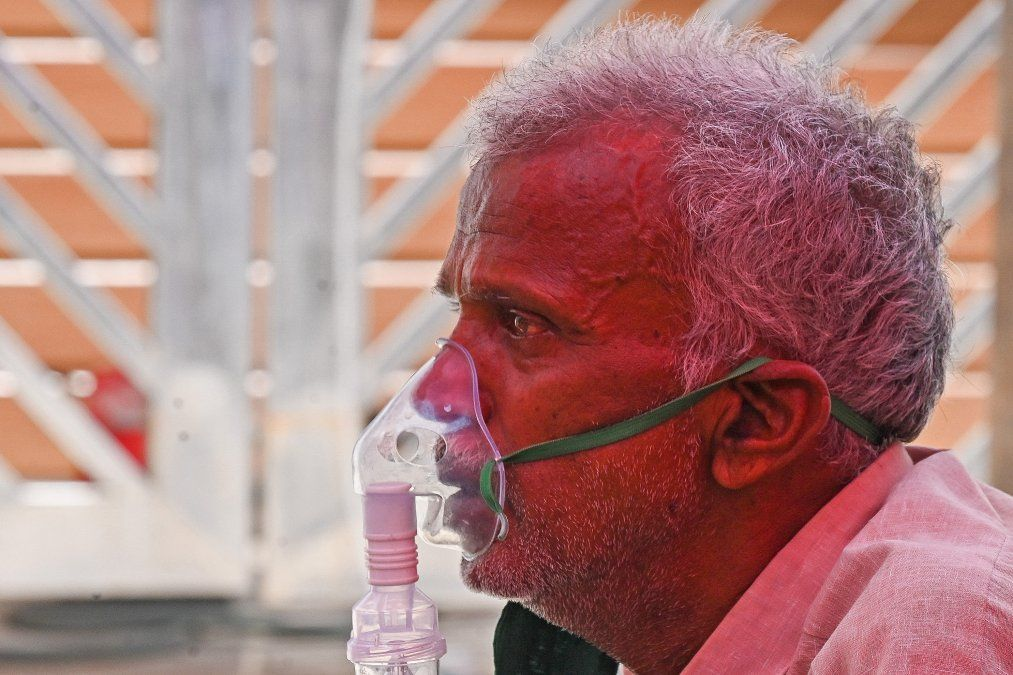 En India la escasez de oxígeno está generando serios problemas asistenciales