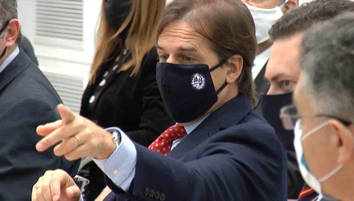 Condenaron a un joven que incitaba a atentar contra el presidente Lacalle Pou