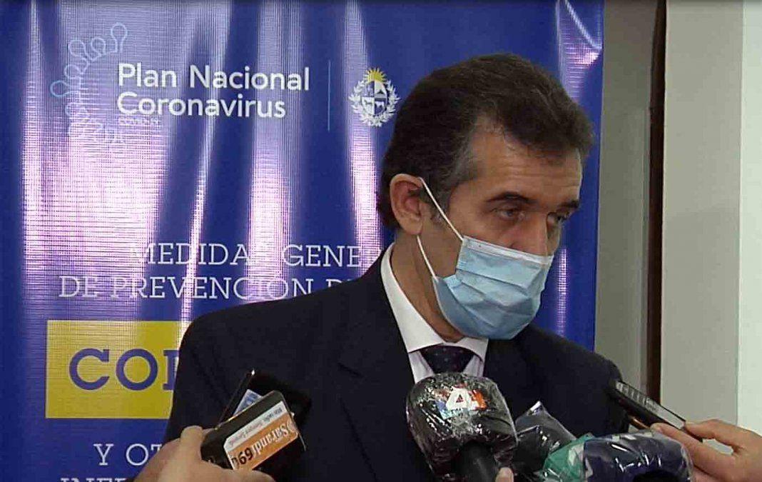Hackearon el correo electrónico del Director General de Salud Miguel Asqueta