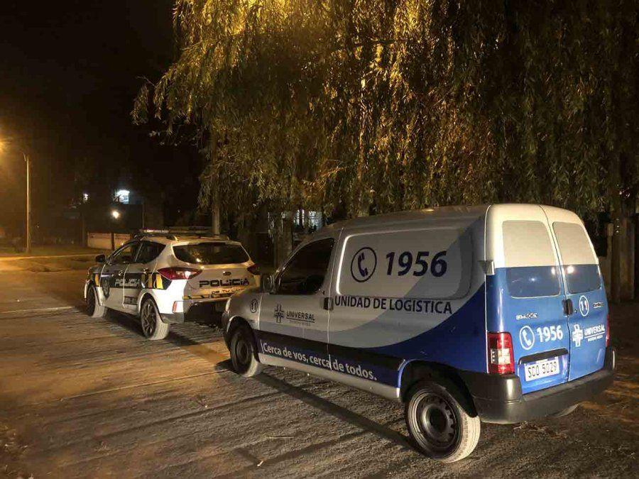 Robaron una unidad médica La Teja, la policía recuperó un tanque de oxígeno