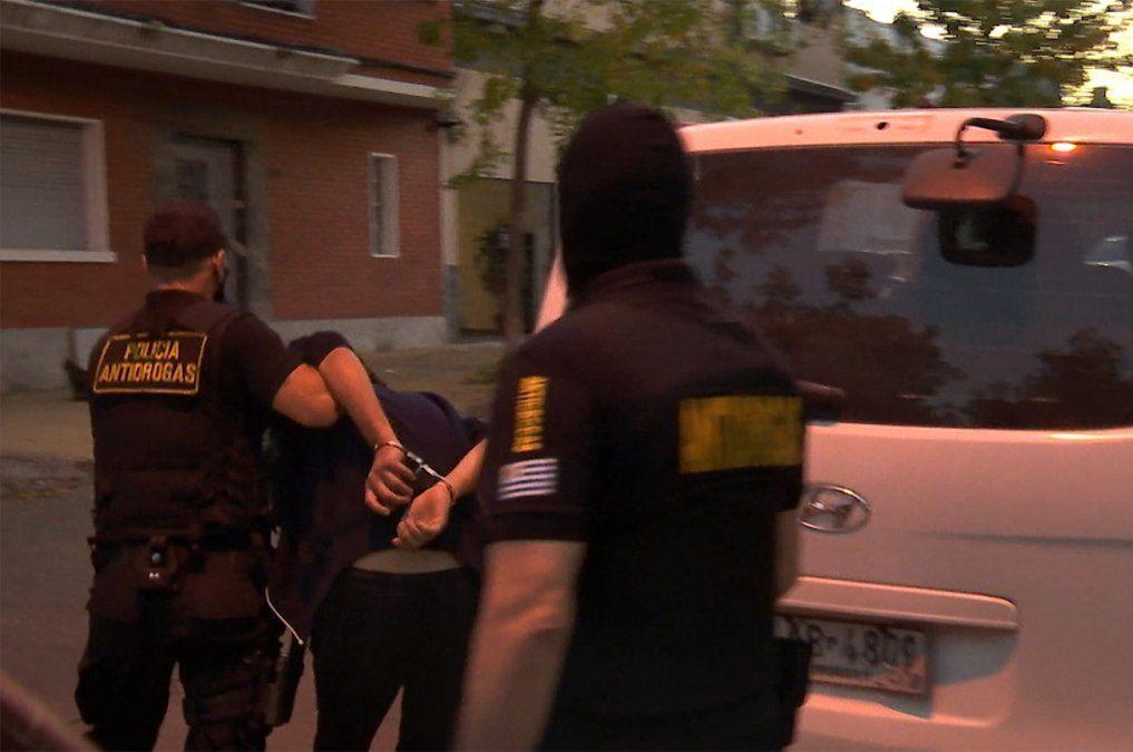 Dos personas detenidas tras un operativo antidrogas en el barrio Reducto