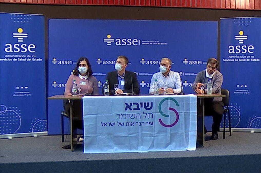 Médicos israelíes destacaron vacunación contra Covid en Uruguay y cuidados en CTI