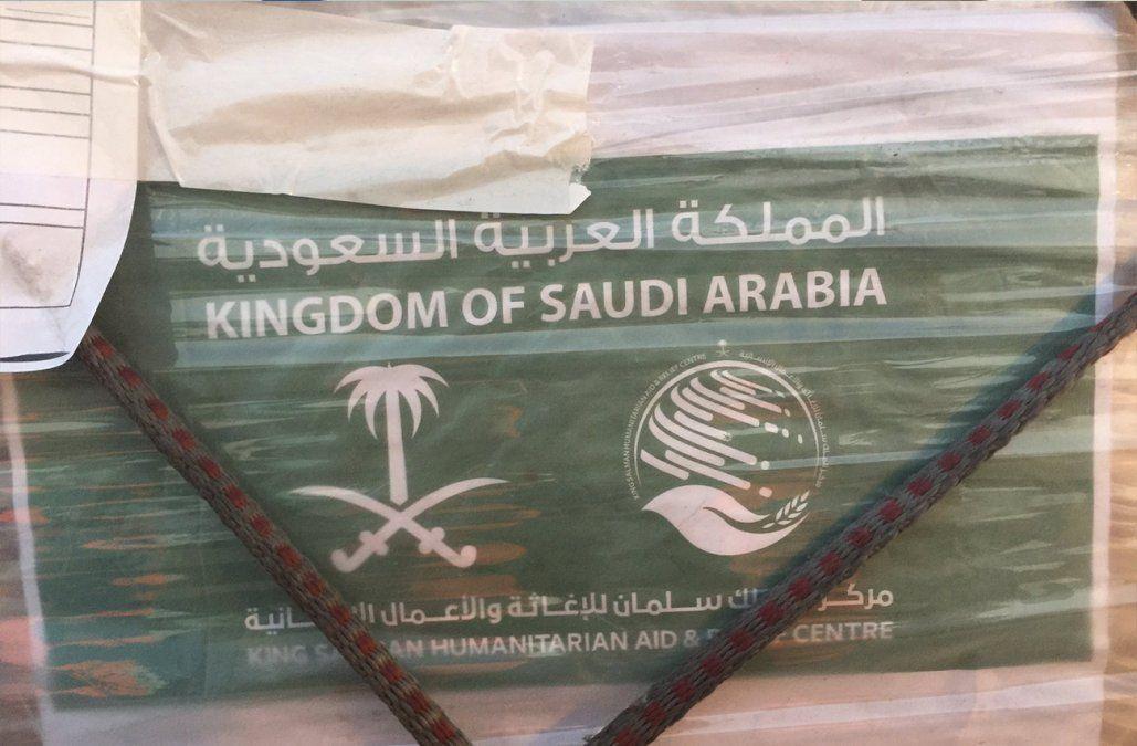 Llegó la segunda partida de los 53 respiradores donados por Arabia Saudita