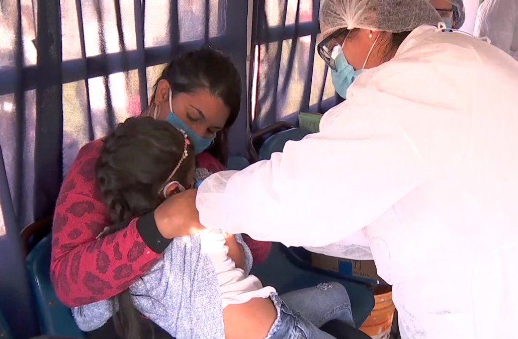 Comienza la vacunación contra la gripepara niños de hasta 4 años y embarazadas