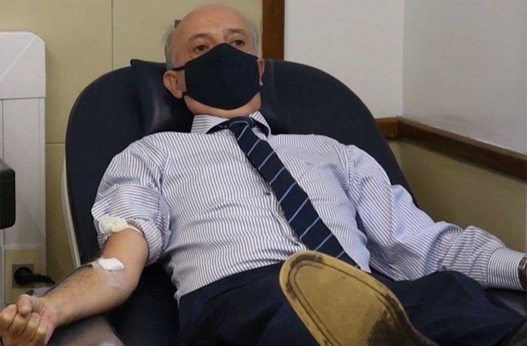 Campaña en las Fuerzas Armadas para que militares donen sangre