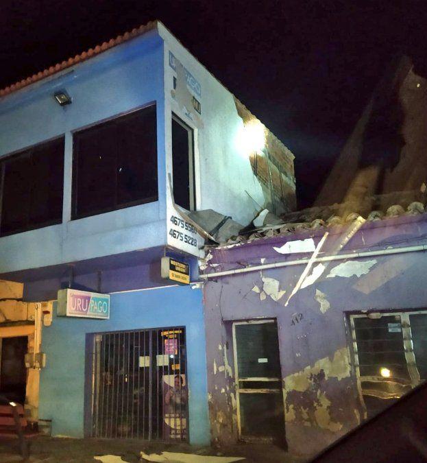 Cerro Largo, foco de una fuerte tormenta que provocó voladura de techos y daños a viviendas